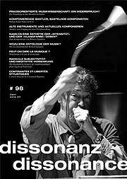 Musik-Zeitschrift Dissonanz-Dissonance - Nummer 98