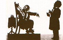 """""""Die neu entstandene Berufsgruppe der Kunstkritiker mischte kräftig mit"""". (Bild: Hanslick gegen Wagner in einer zeitgenössischen Karikatur)"""