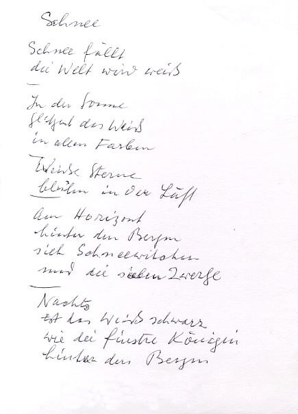 Gedicht Rätsel