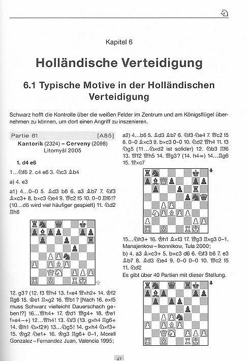 Leseprobe aus Karsten Müller & Rainer Knaak, 222 Eröffnungsfallen nach 1.d4, Edition Olms