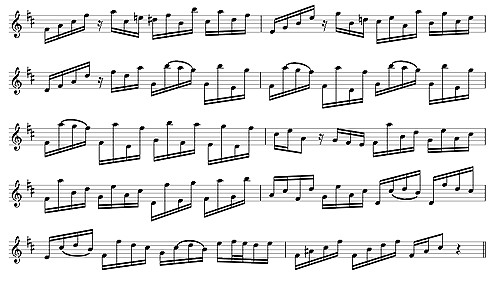 """Ein Auszug aus meinen """"Fantasien"""" für Flöte - Wer bin ich?"""