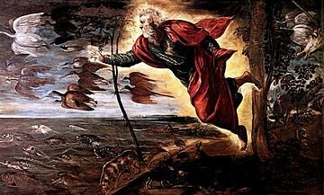 """""""Die Schöpfung der Tiere"""" von Tintoretto"""