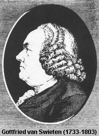 Baron Gottfried van Swieten
