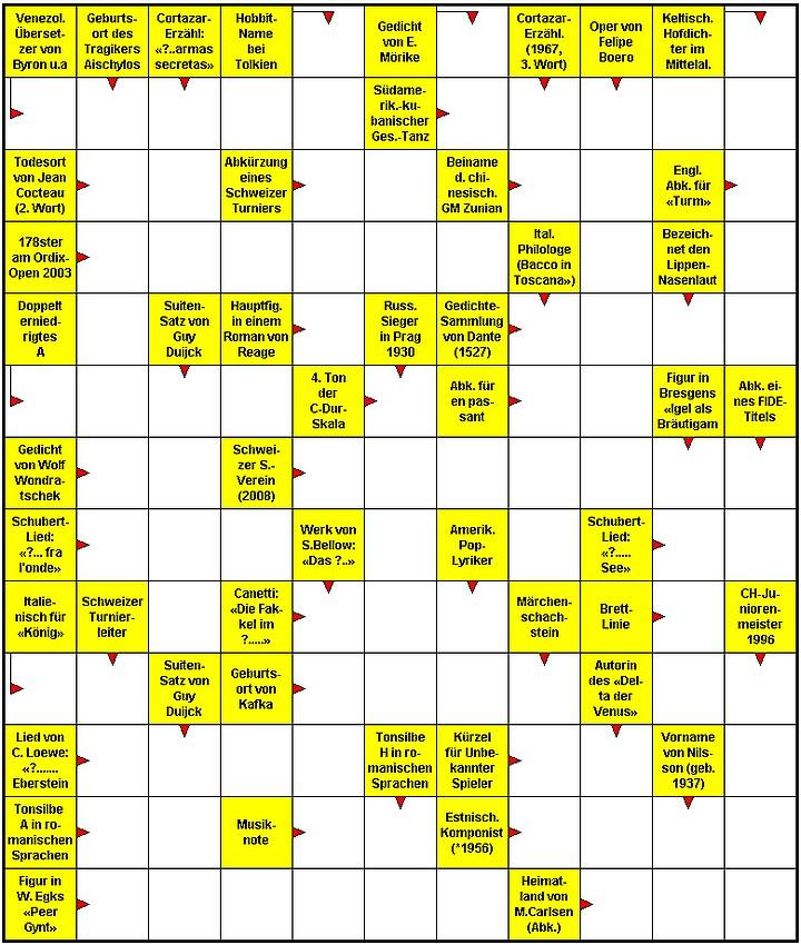 Lustig Kreuzworträtsel