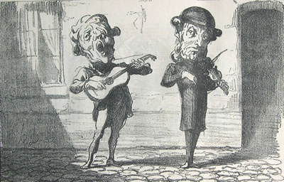 Daumier: Anciens accessit du conservatoire