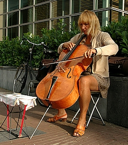 cello-spielerin