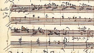 Mozart_Autograph_Klavier