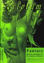 Die letzte Nummer: SCRIPTUM Nr. 31 - 1998 - Cover