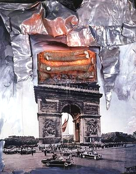 Wolf Vostell_Arc de Triomphe_1993