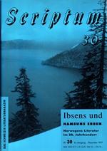 Literaturzeitschrift SCRIPTUM Nr. 30 - Cover