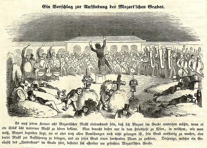 Mozart_Grab_Fliegende Blaetter Nr.569