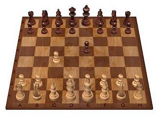 Grundaufstellung Schach