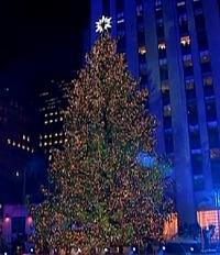 Weihnachtsbaum - Rockefeller Center New York