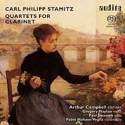 Stamitz - Klarinettenquartette - Audite - Cover