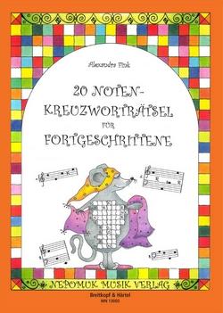 20 Noten-Kreuzworträtsel für Fortgeschrittene - Alexandra Fink - Cover