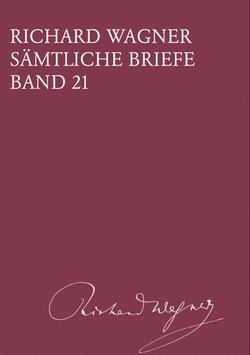 Richard Wagner - Briefe 21 - Cover - Breitkopf-Haertel