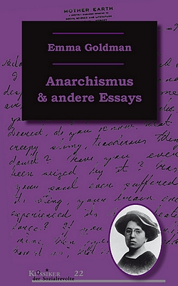 Goldman - Anarchismus - Unrast Verlag - Cover