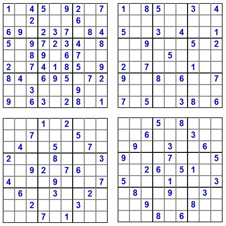 Sudoku-Spass-Juni-2014-Glarean-Magazin-Aufgaben