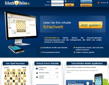 Schachonline-Online-Schach-Portal