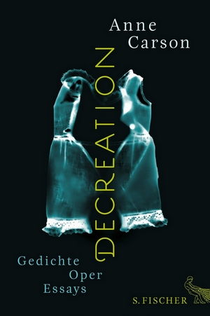 Anne Carson - Decreation - Cover