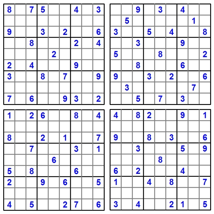 Sudoku-Raetsel-Puzzle-August-2014-Glarean Magazin