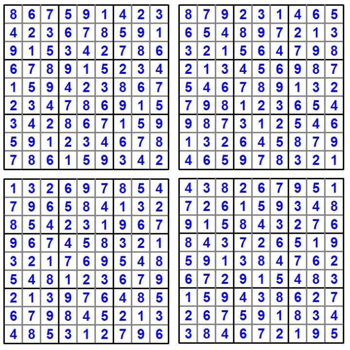 Sudoku-Raetsel-Puzzle-August-2014-Loesung - Glarean Magazin