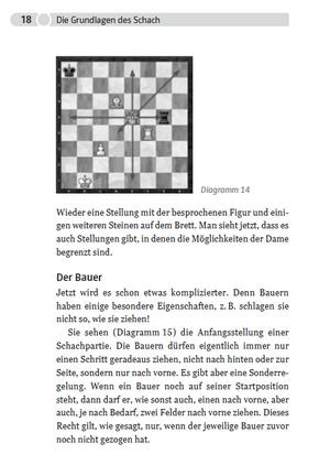 Chess - Die kleine Schachschule - Carlstedt - Humboldt Verlag - Probeseite