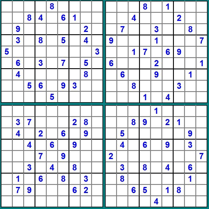 Sudoku - Puzzle-Raetsel-November-2014-Glarean Magazin