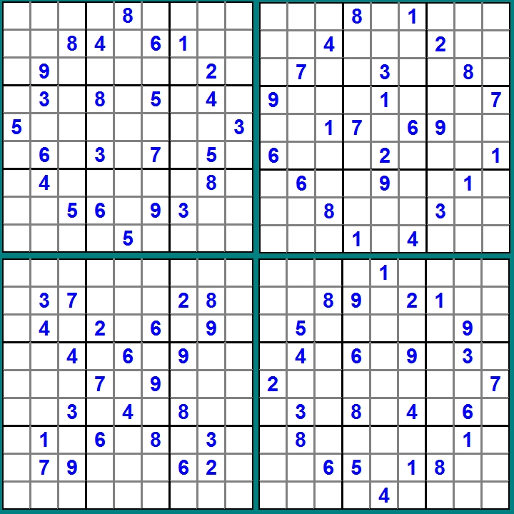 Sudoku - Puzzle-Raetsel-November-2014-Glarean Magazin