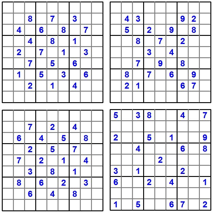Sudoku - Raetsel-Spass - Puzzle-Aufgaben - Glarean Magazin