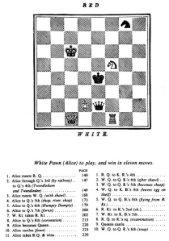 Schuster - Alice chess game