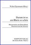 Anthologie: Darum ist es am Rhein so schön