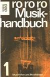 Musikhandbuch 1 - Cover - Heinrich Lindlar