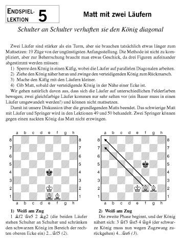 Leseprobe aus Karsten Müller: Schach-Endspiele für Kids (Matt mit zwei Läufern)