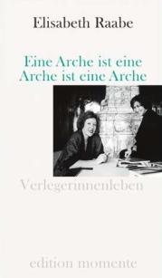 Eine Arche ist eine Arche - Raabe - Glarean Magazin - Buch-Cover