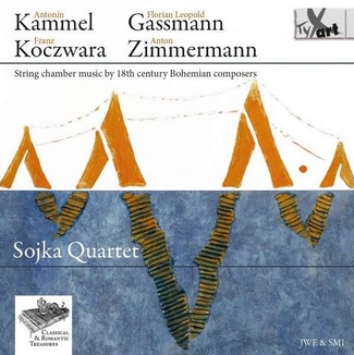 String Chamber Music - Sojka Quartet - Kammel u.a. - TYXart - Cover