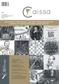 Caissa- Cover-Erstausgabe-Glarean Magazin