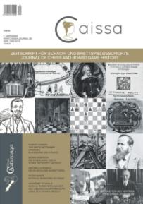 Caissa- Cover-Erstausgabe-Glarean Magazin
