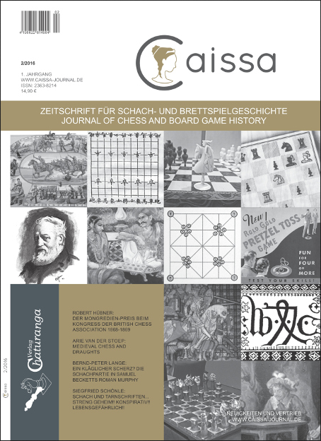 Schach-Zeitschrift Caissa - Nr 2 /(2016) - Chaturanga Verlag