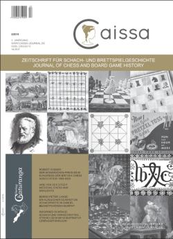 Schach-Zeitschrift Caissa - Nr 2 /(2016)